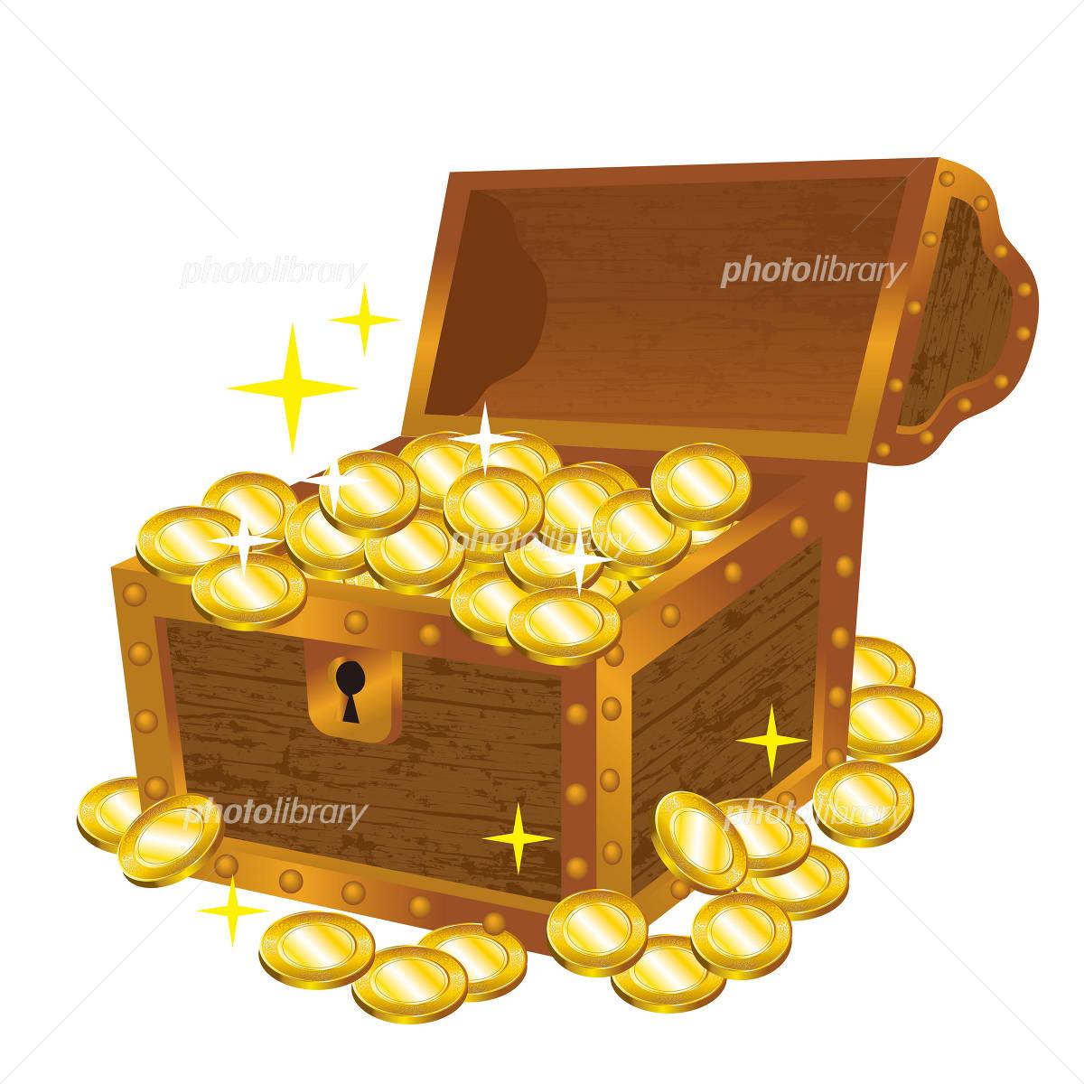 宝箱-写真素材 宝箱 画像ID 1385136   素材