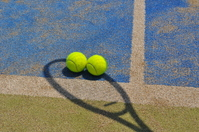 Ball and racket Stock photo [1382701] Tennis