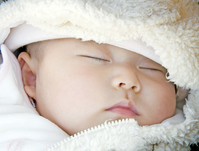 Sleeping face of baby Stock photo [1384082] Infants