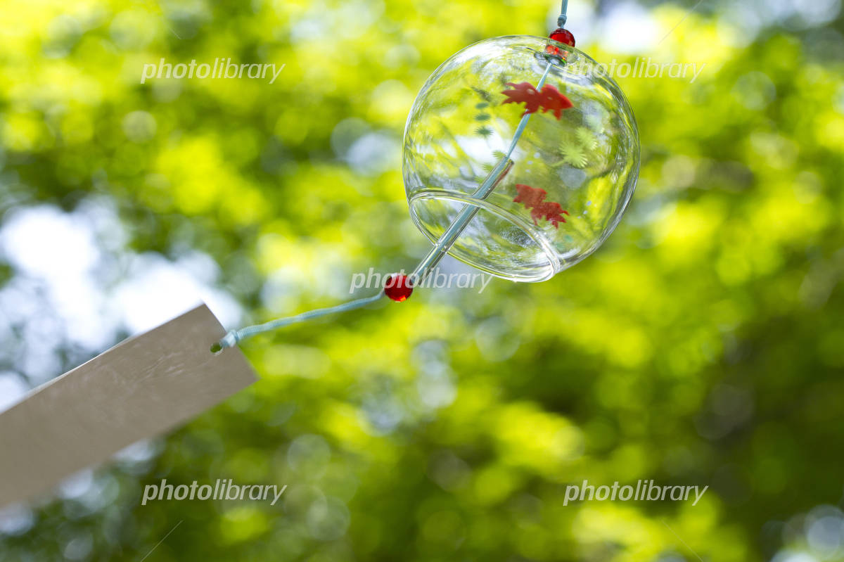 Summer, wind chimes Photo