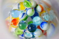 Number of marbles Stock photo [1470840] Marbles