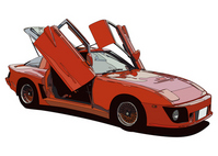 Custom sports car [1472462] Japan