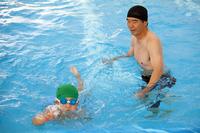 Swimming instructor Stock photo [1473816] Swimming
