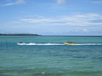 Banana boat Stock photo [1474060] Sea