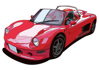 Domestic open sports car [1474342] Japan