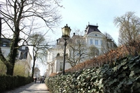 The exclusive residential area of Germany Hamburg Stock photo [1474474] High-class