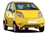 Ultra-low-price car [1475609] India