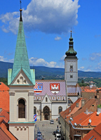 Zagreb St. Mark's Church Stock photo [1476143] Europe