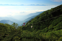Sea of clouds and Central Alps Komagatake Ropeway Stock photo [1478039] Nagano