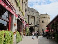 Mont-Saint-Michel streets of Stock photo [1478438] France