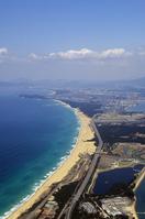 The centrist Karinosu thee Aerial of sea Stock photo [1479384] Fukuoka