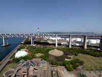 Seto Ohashi Bridge Memorial Park and the Seto Ohashi Bridge Stock photo [1480293] Seto-Ohashi