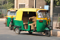 Auto Rikusha Stock photo [1572615] India