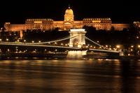Budapest Chain Bridge Stock photo [1572731] Europe