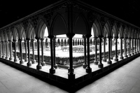 Mont Saint Michel corridor Stock photo [1573039] World