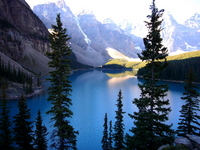 Moraine Lake Canadian Rockies Stock photo [1575625] Kanata