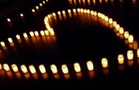 Heart candle Stock photo [1579235] Hart
