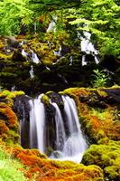 Waterfall of Onneto hot water Stock photo [1579887] Waterfall