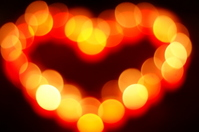 The illumination of the heart Stock photo [1581634] Hart