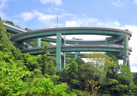 Kawazu Nanadaru loop bridge Stock photo [1583904] Kawazu