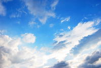 Blue sky white clouds Stock photo [1584471] Blue