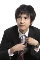 Businessman to remove the tie Stock photo [1584481] Businessman