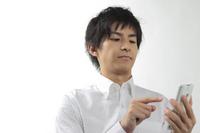 Men use a smartphone Stock photo [1584488] Smartphone