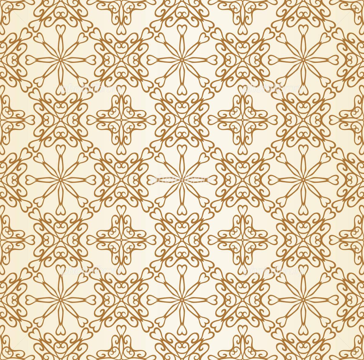 アールデコ調 壁紙 シームレス イラスト素材 1679040 フォト