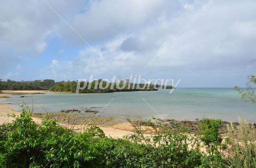 瀬良垣ビーチの砂浜