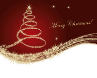 Christmas tree background [1675749] Christmas
