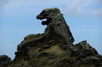 Oga Peninsula Godzilla rock Stock photo [1676784] Oga