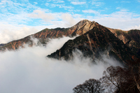 Sea of clouds across the Tateyama mountain range Stock photo [1679349] Tateyama
