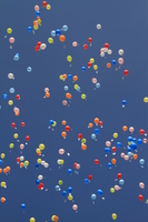 A lot of balloons Stock photo [1679941] Saitama
