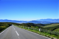 Plateau of highway and Japan Alps Stock photo [1680457] Mountain