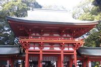 Musashi Ichinomiya Hikawa Shrine tower gate Stock photo [1680512] Shrine