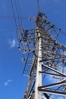 Power transmission line Stock photo [1680890] Steel
