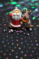 Santa and reindeer Stock photo [1681064] Santa