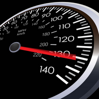 Car speedometer [1684149] Speed