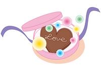Valentine cute chocolate [1685263] Valentine