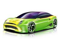 Sports car [1755616] Car