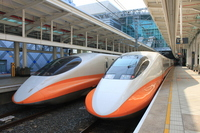 High-speed rail Kaohsiung left 營駅 Stock photo [1755918] Asia