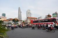 Ho Chi Minh City traffic Stock photo [1759578] Vietnam