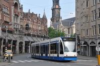 Dutch Amsterdam tram Stock photo [1850674] Netherlands