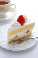 Strawberry short cake Stock photo [1854583] Short