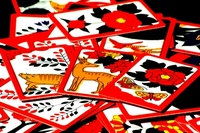 Hanafuda Inoshikacho Stock photo [1855231] Japanese