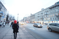 Streets of St. Petersburg Stock photo [1859015] Russia