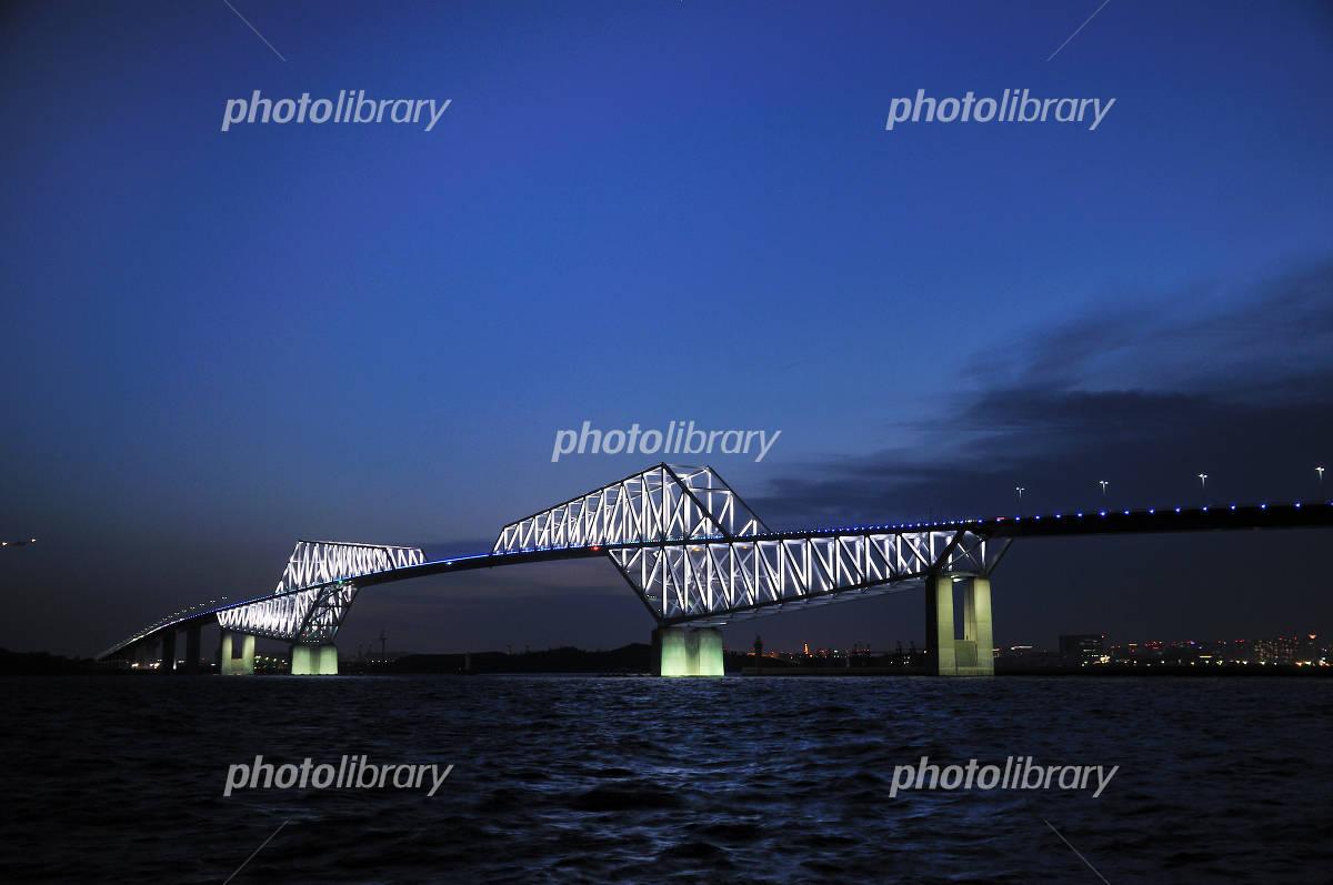 Twilight Gate Bridge Photo