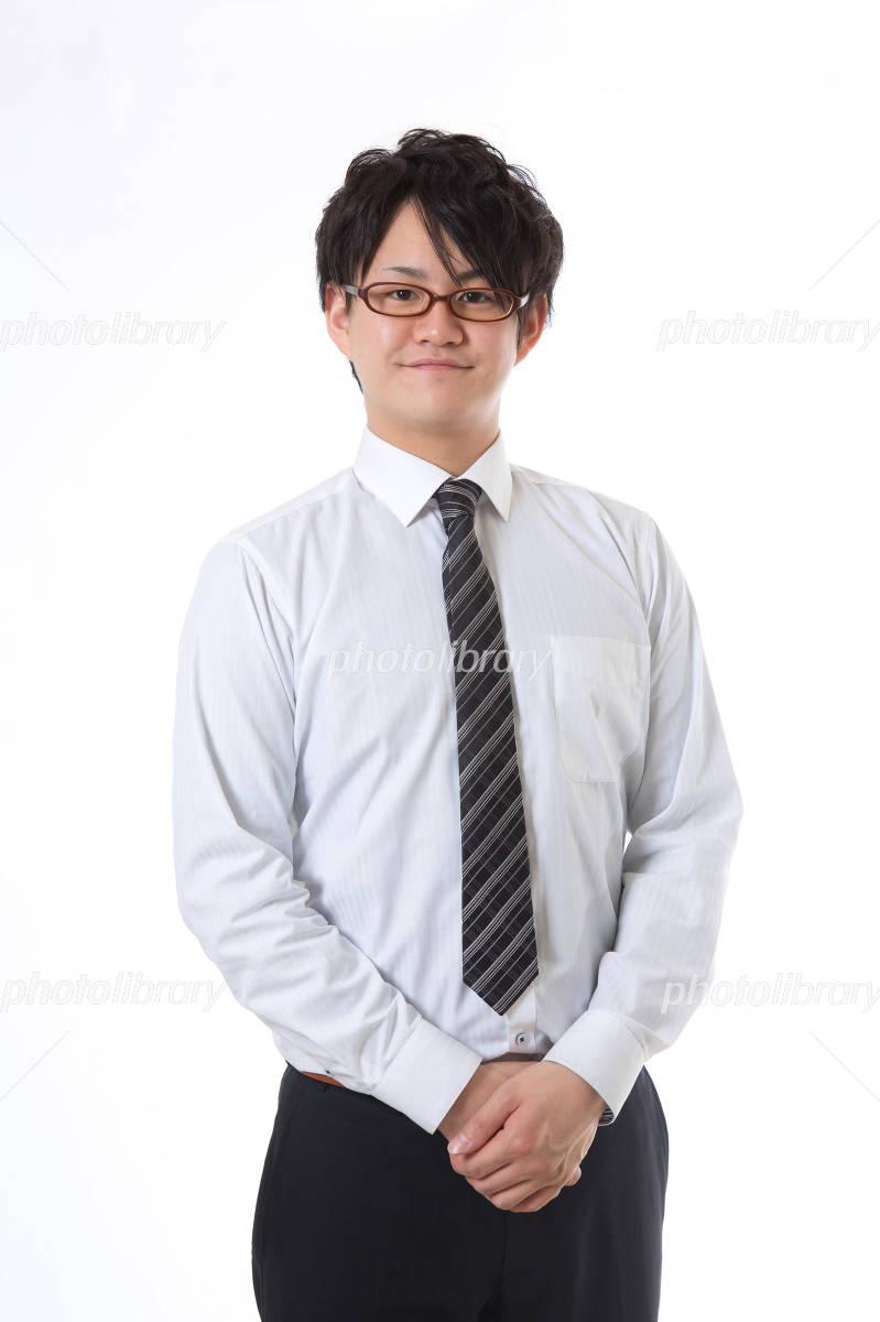 businessman greet Photo
