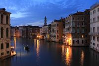 Grand Canal seen from Rialto Bridge Stock photo [1966383] Italy