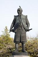 Toyotomi Hideyoshi image stock photo